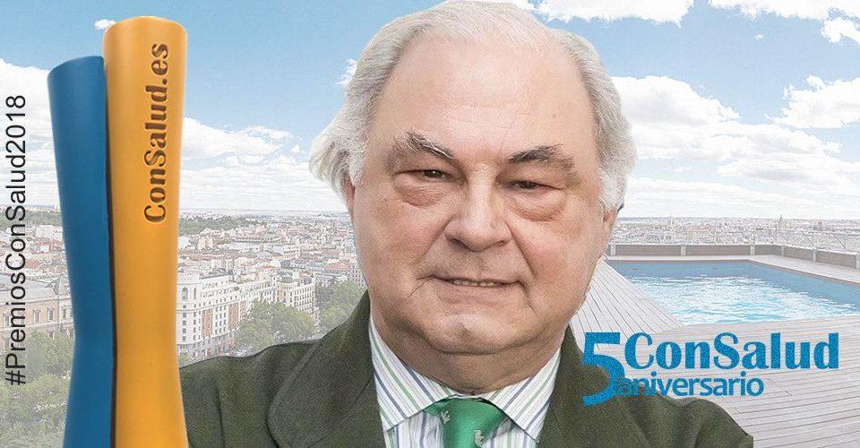 """Isidro Díaz de Bustamante, premio ConSalud 2018 a la """"Figura del Año"""" 18"""